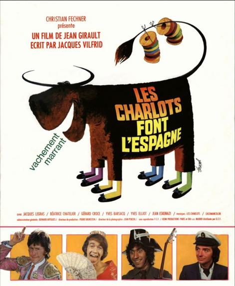 17 - Les Charlots font l'Espagne (1972)