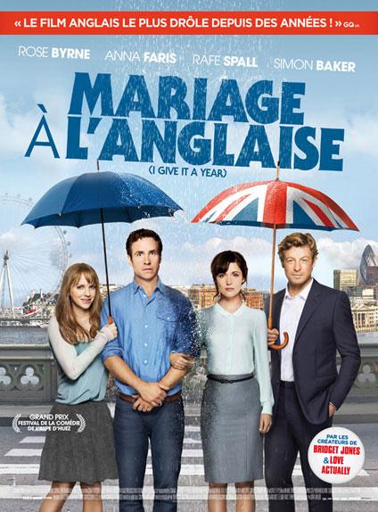 """""""Mariage à l'anglaise"""" s'appelle en VO..."""