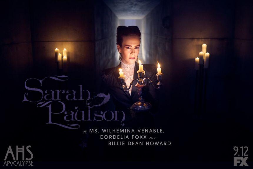 Sarah Paulson est Vilhemina Venable