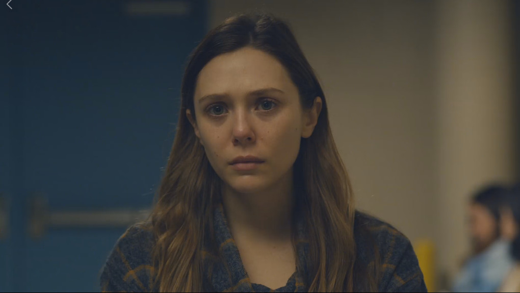 "Elizabeth Olsen brille dans ""Sorry For Your Loss"""