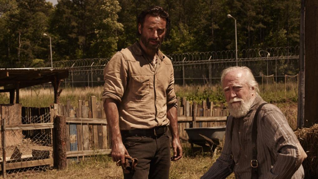 """Scott Wilson dans """"The Walking Dead"""""""