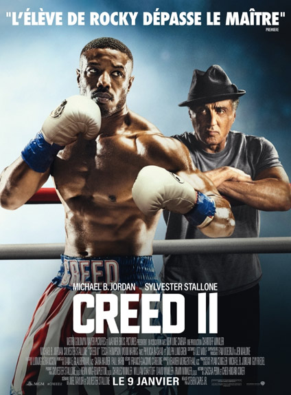 N°1 - Creed II : 832 553 entrées