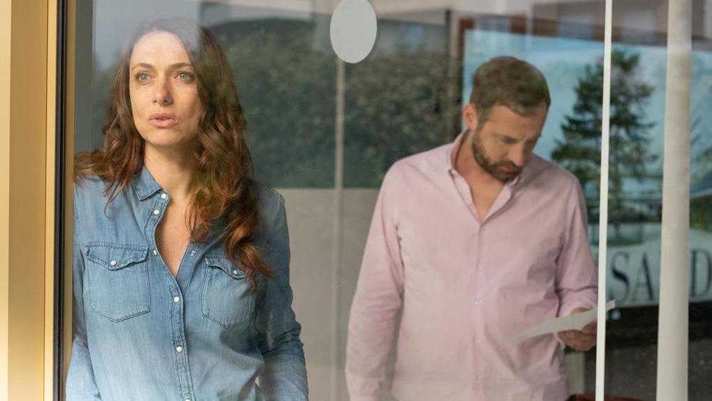 Sam (Natacha Lindinger) et Xavier (Fred Testot)