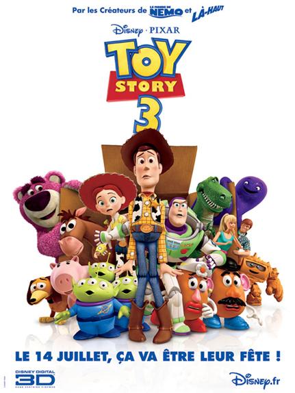 N°27 - Toy Story 3 : 1,067 milliard de dollars de recettes