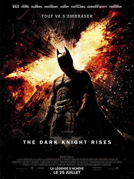 N°26 : Dark Knight Rises : 1,084 milliard de dollars de recettes