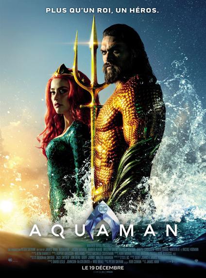 N°21 - Aquaman : 1,147 milliard de dollars de recettes