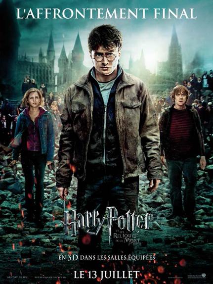N° 10 - Harry Potter et les reliques de la mort partie 2 : 1,341 milliard de dollars de recettes