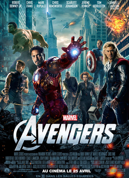 N°6 - Avengers : 1,518 milliard de dollars de recettes