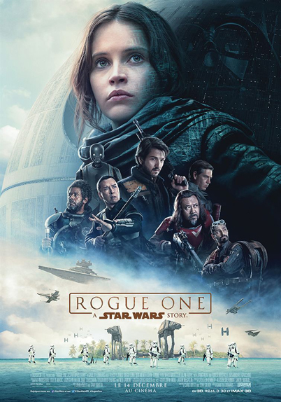 N°30 - Rogue One A Star Wars Story : 1,056 milliard de dollars de recettes