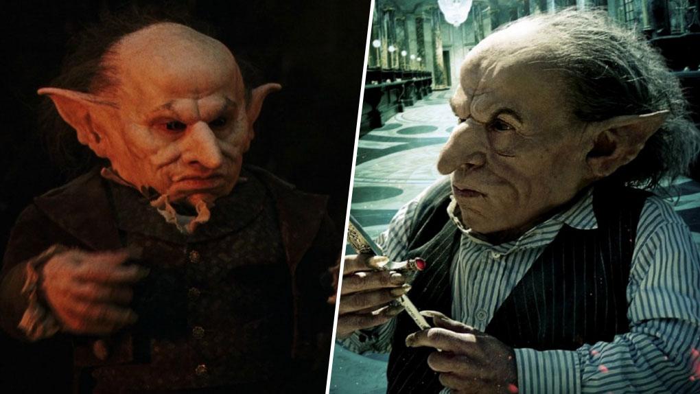 Harry Potter : 13 personnages qui ont changé d'acteurs !: Gripsec le  gobelin - AlloCiné