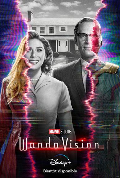 WandaVision : la première affiche de la série Disney+ Originals