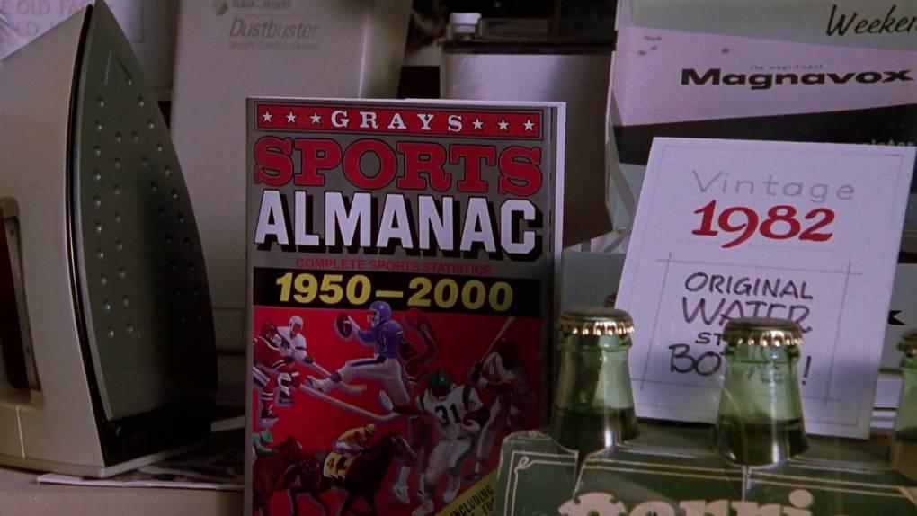 L'almanach des sports (Retour vers le futur)