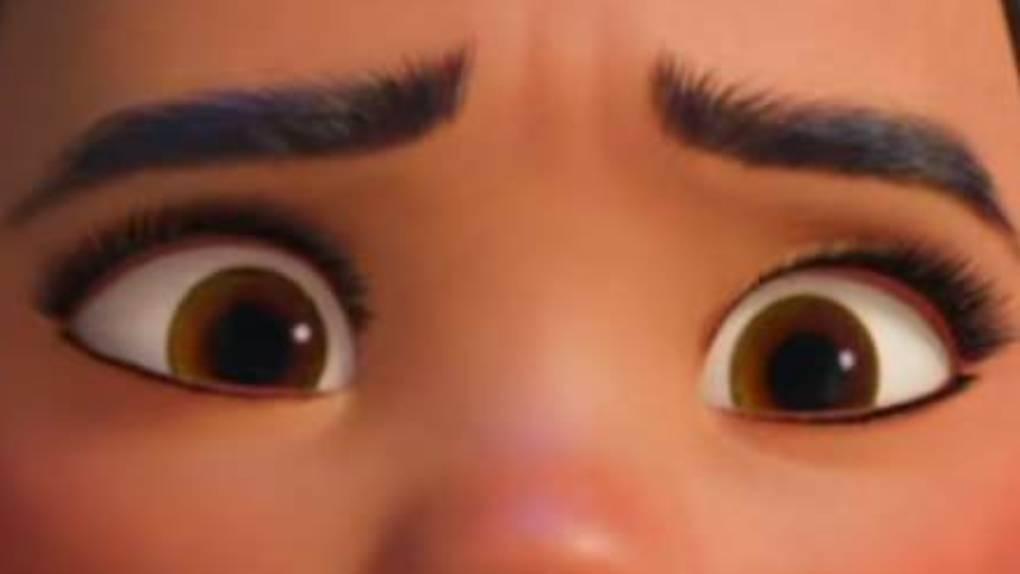 A quel personnage Disney appartiennent ces yeux ?