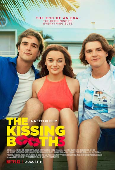 The Kissing Booth 3 avec Joey King, Jacob Elordi, Joel Courtney...