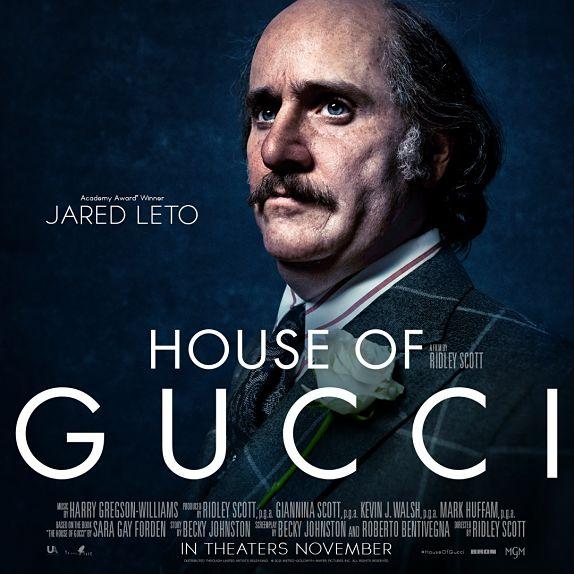 Jared Leto est Paolo Gucci