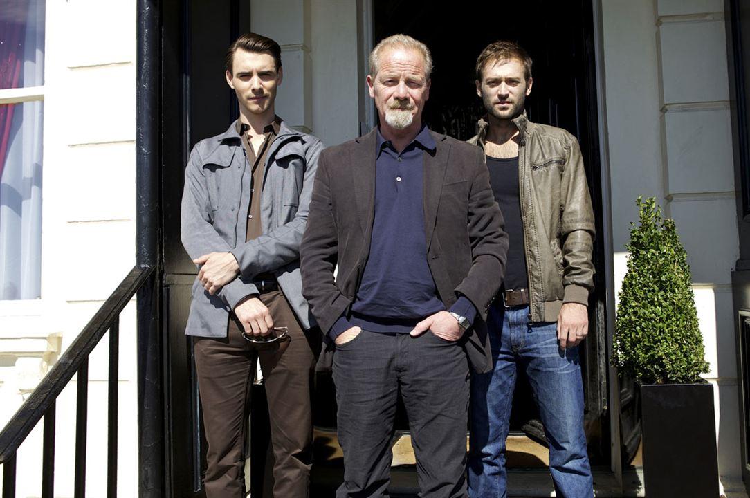 Photo Harry Lloyd, Paul Nicholls, Peter Mullan