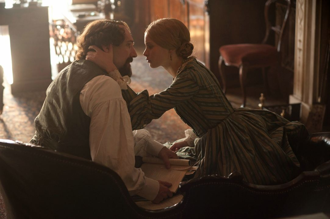 The Invisible Woman: Ralph Fiennes, Felicity Jones