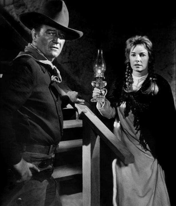 L'Homme qui tua Liberty Valance : Photo John Wayne