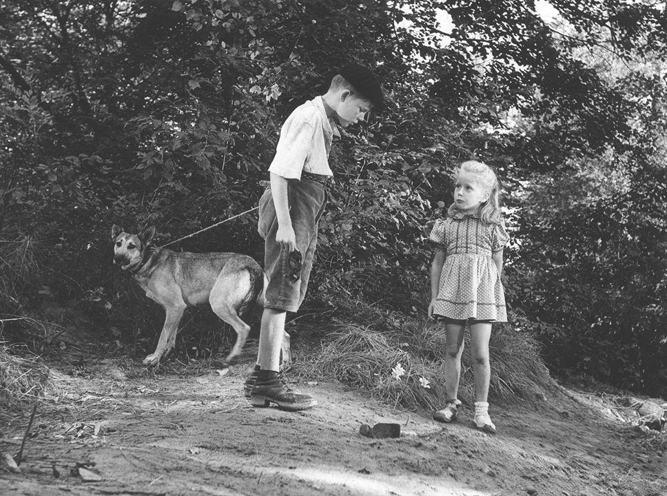 Jeux interdits : Photo Brigitte Fossey, Georges Poujouly