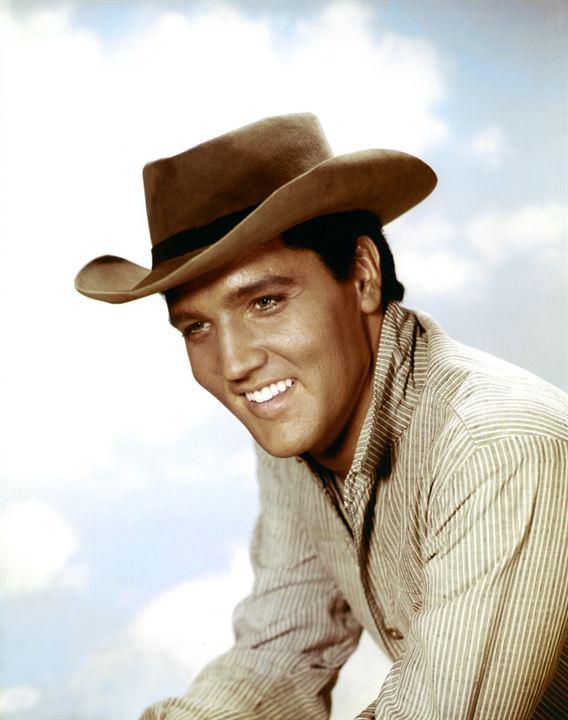 Les Rôdeurs de la plaine : Photo promotionnelle Elvis Presley