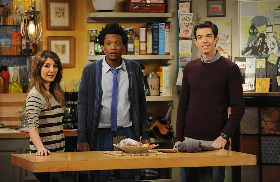 Photo John Mulaney, Nasim Pedrad, Seaton Smith