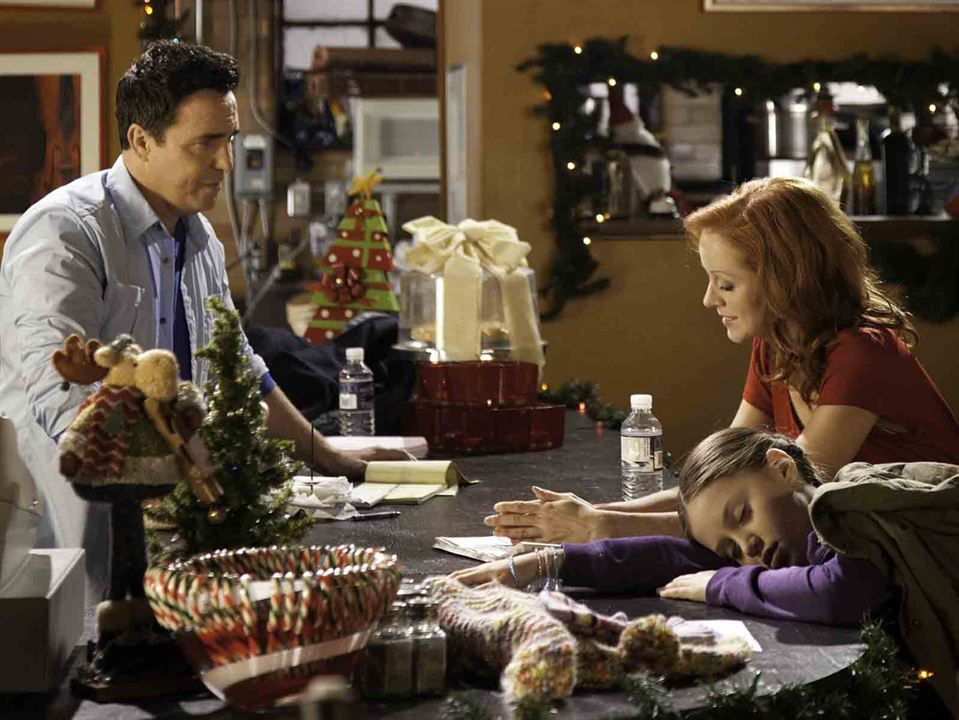 L'Ange de Noël : Photo Kiara Glasco, Lindy Booth, Paul McGillion