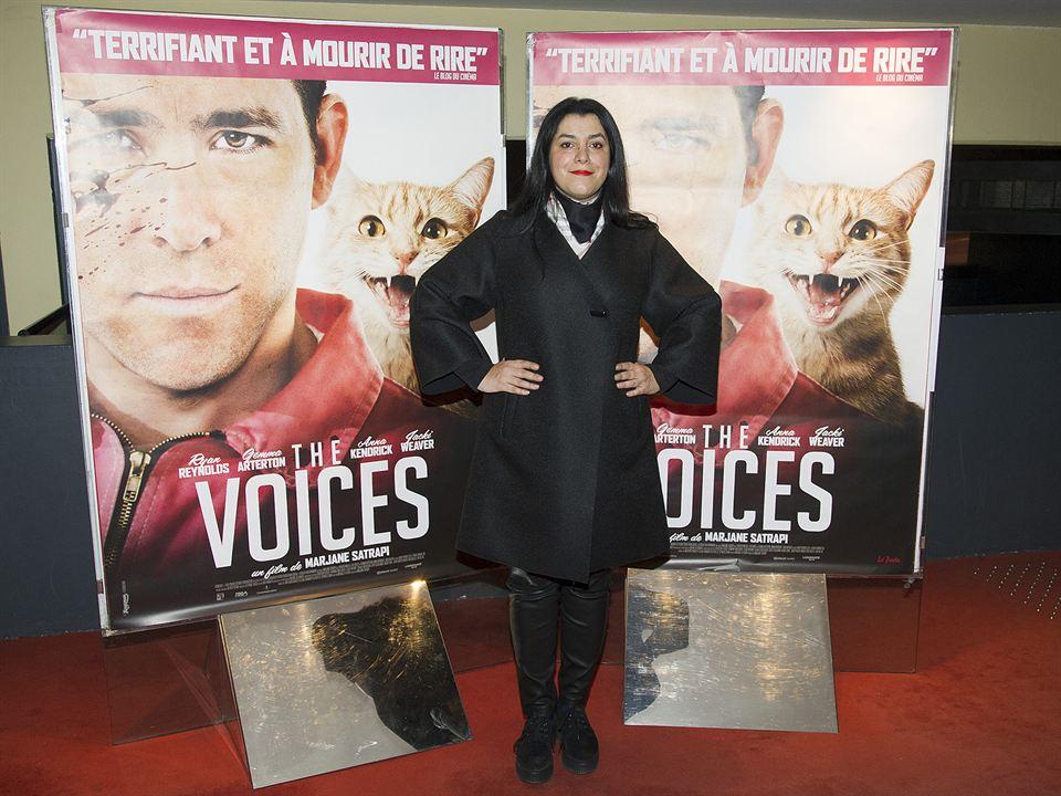 The Voices : Photo promotionnelle Marjane Satrapi