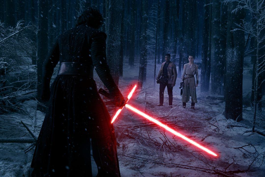 Star Wars - Le Réveil de la Force : Photo Adam Driver, Daisy Ridley, John Boyega