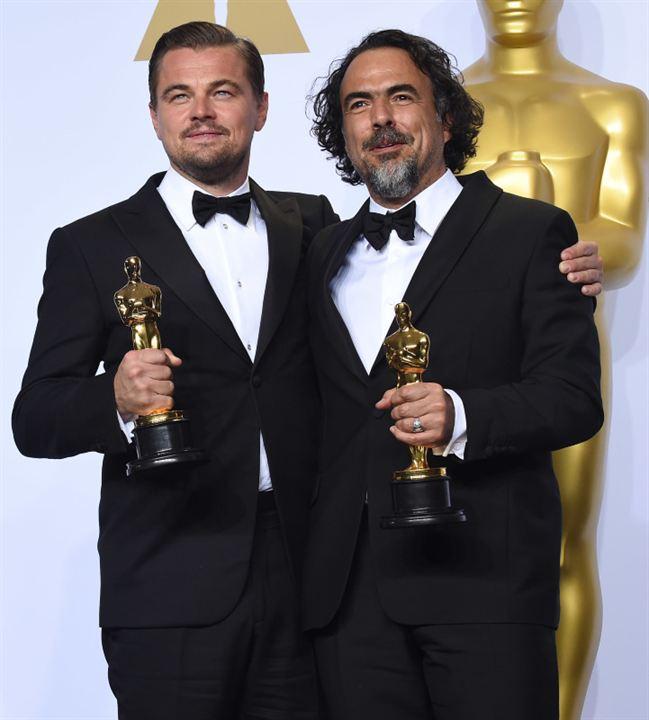 The Revenant : Photo promotionnelle Alejandro González Iñárritu, Leonardo DiCaprio
