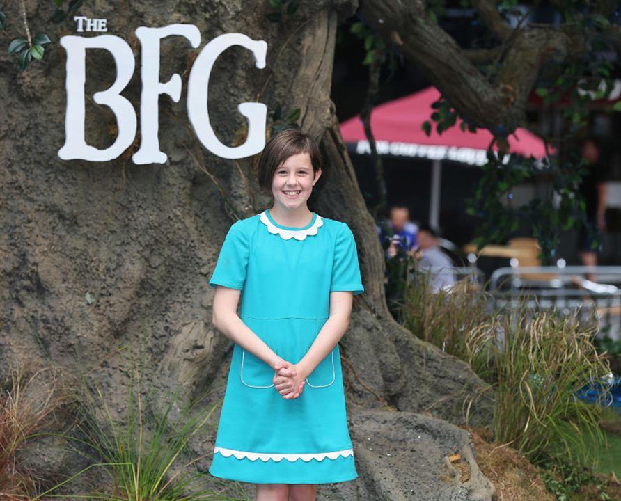 Le BGG – Le Bon Gros Géant : Photo promotionnelle Ruby Barnhill