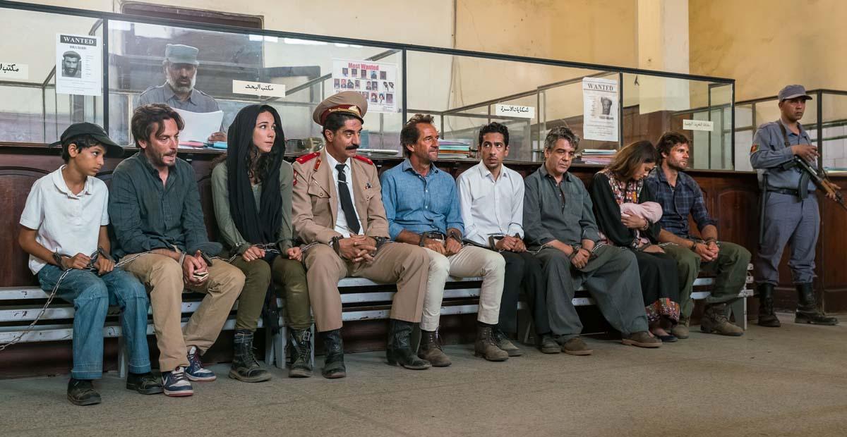 Photo Benjamin Bellecour, Fayçal Azizi, Karina Testa, Marc Citti, Simon Abkarian