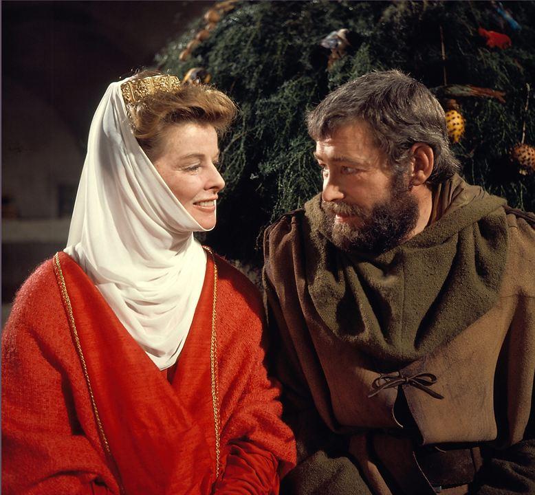 Le Lion en hiver: Katharine Hepburn, Peter O'Toole