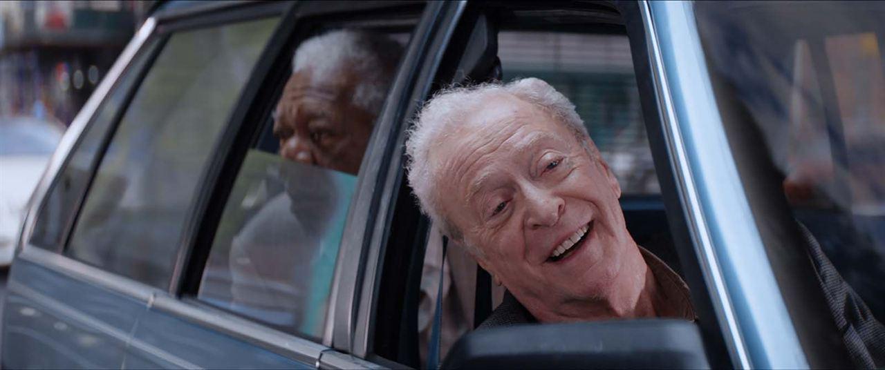 Braquage à l'ancienne: Morgan Freeman, Michael Caine