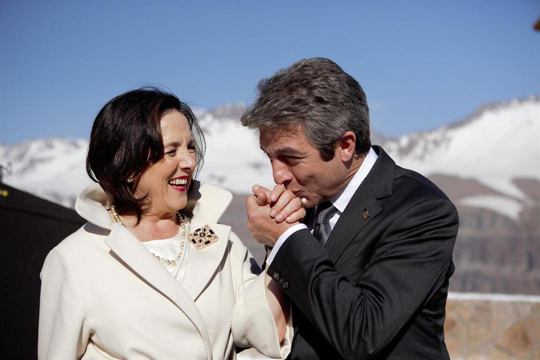 El Presidente : Photo Elena Anaya, Ricardo Darín