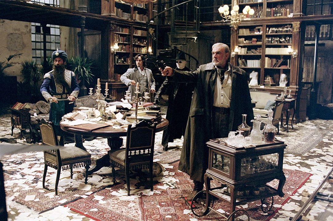 La Ligue des Gentlemen Extraordinaires : Photo Naseeruddin Shah, Sean Connery, Stuart Townsend