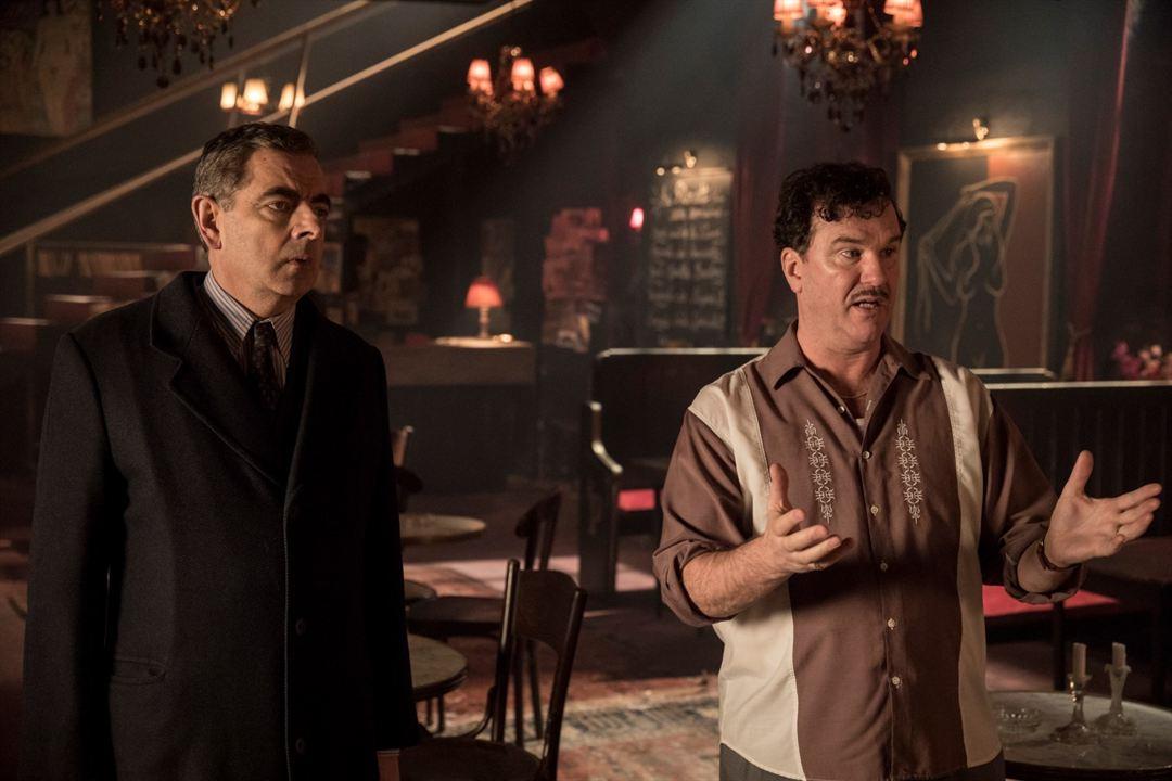 Maigret au Picratt's : Photo Douglas Hodge, Rowan Atkinson