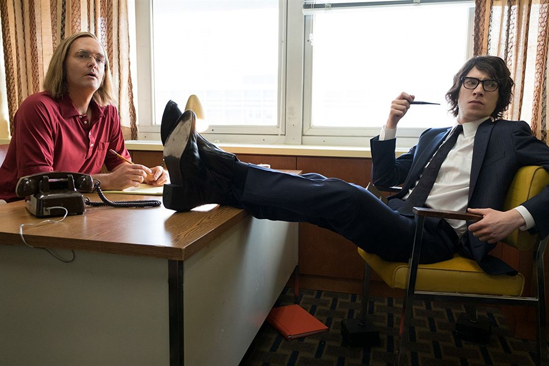 A Futile And Stupid Gesture: Will Forte, Domhnall Gleeson