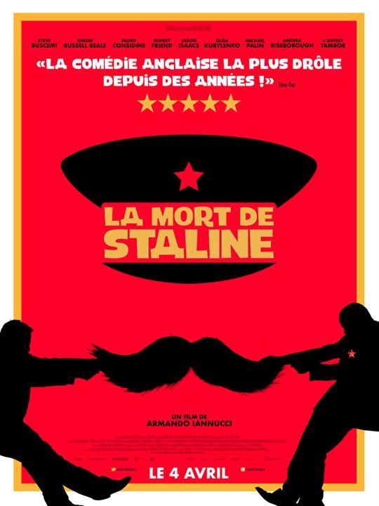 La Mort de Staline : Affiche