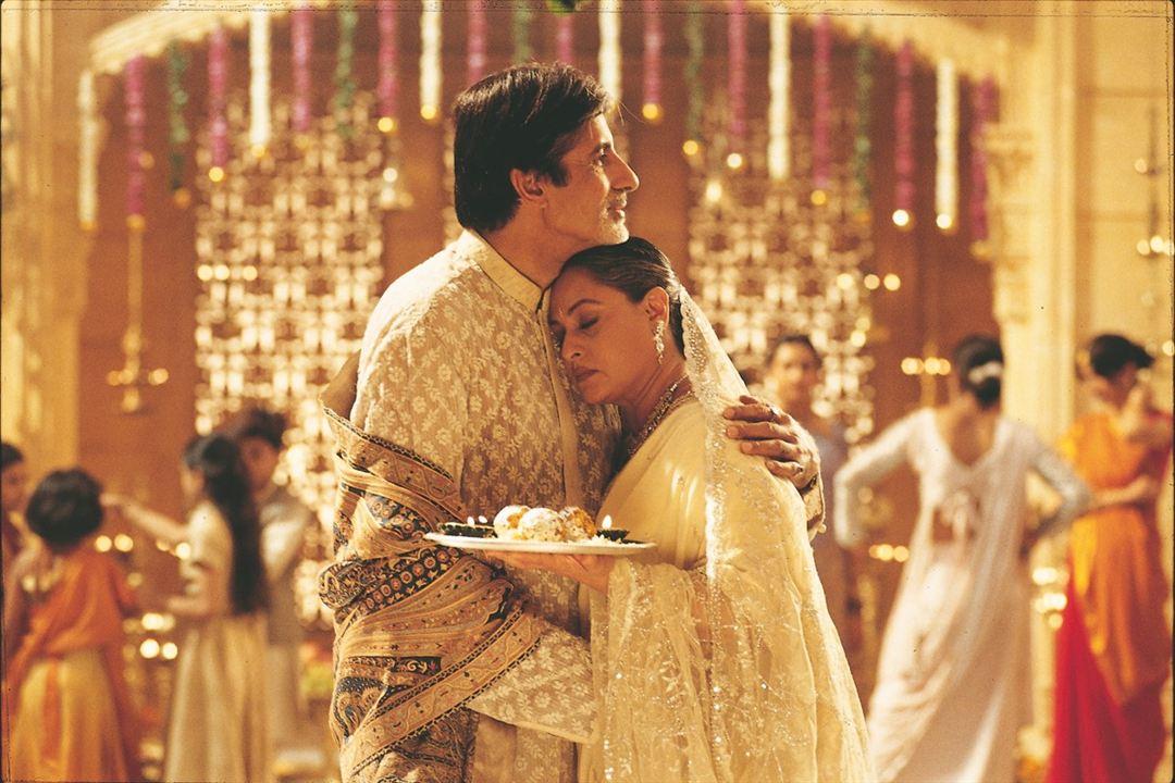 La Famille indienne : Photo Amitabh Bachchan, Jaya Bhaduri