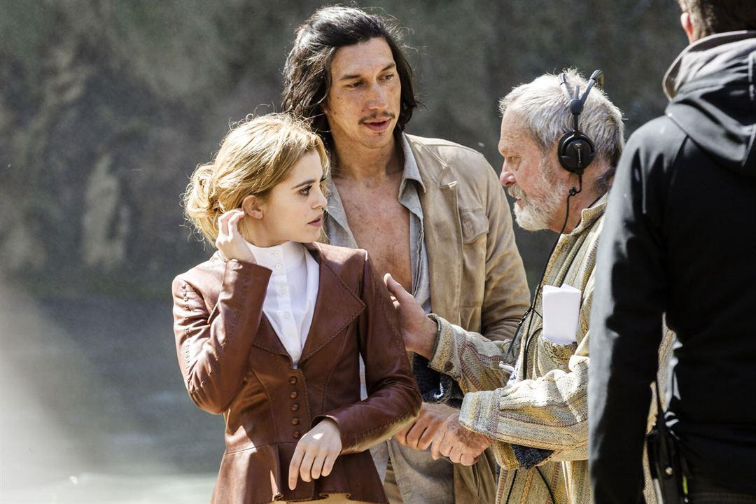 L'Homme qui tua Don Quichotte : Photo Adam Driver, Joana Ribeiro, Terry Gilliam