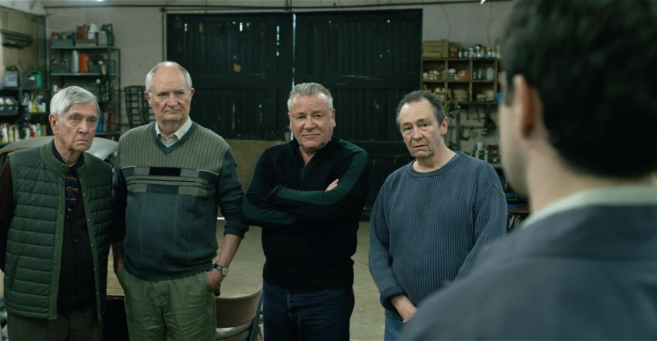 Gentlemen cambrioleurs : Photo Charlie Cox, Jim Broadbent, Paul Whitehouse, Ray Winstone, Tom Courtenay