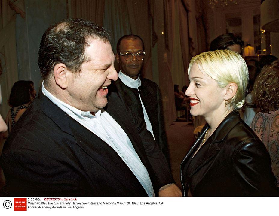 L'Intouchable, Harvey Weinstein : Photo Harvey Weinstein, Madonna