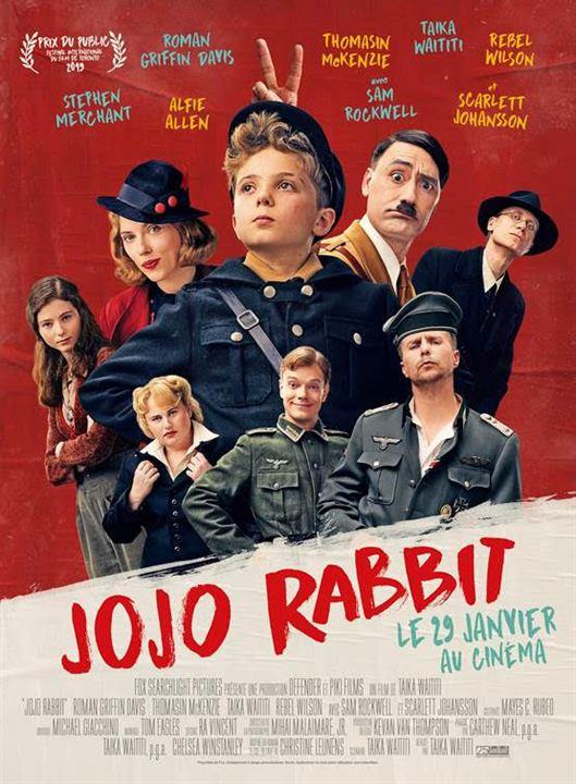 """Résultat de recherche d'images pour """"Jojo Rabbit affiche"""""""""""