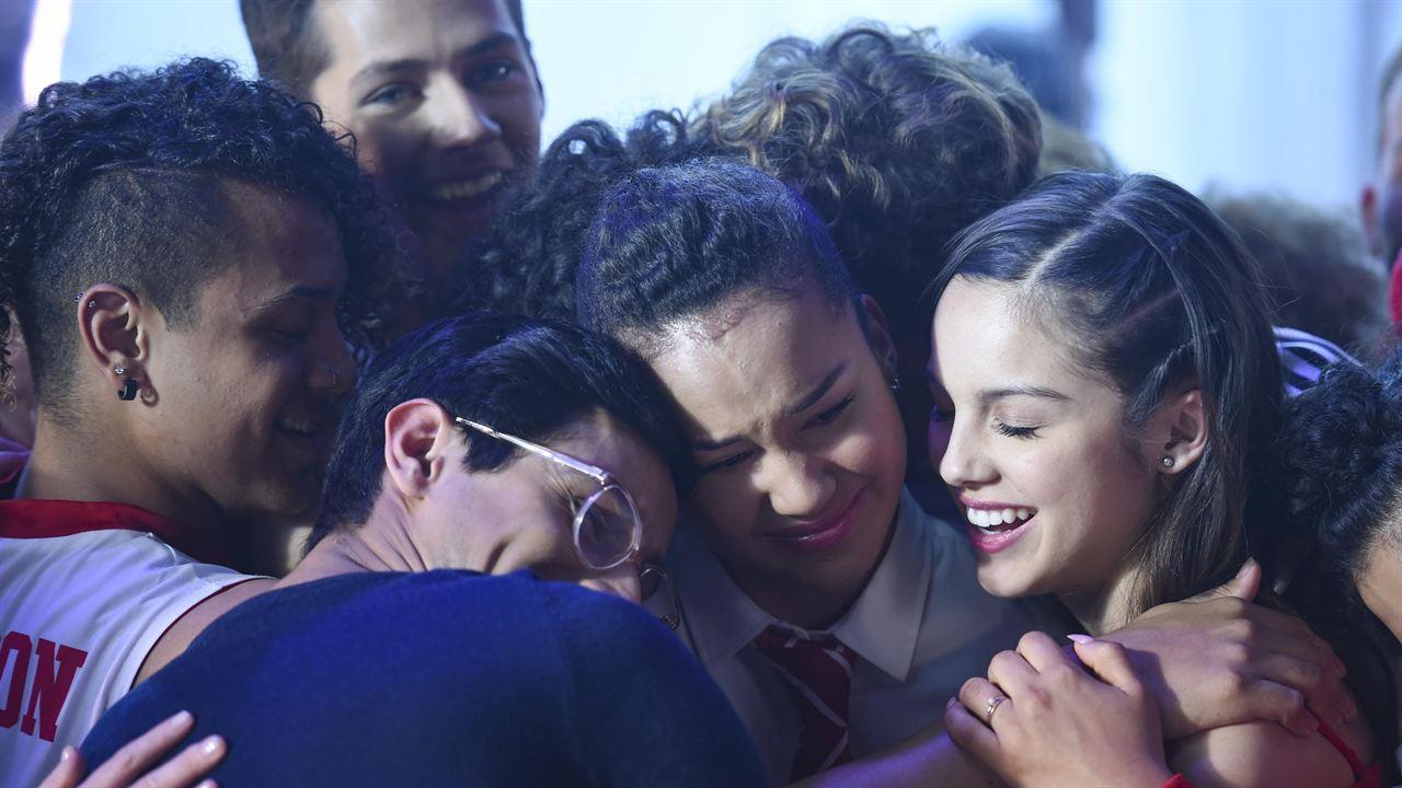 Photo Frankie A. Rodriguez, Olivia Rodrigo, Sofia Wylie