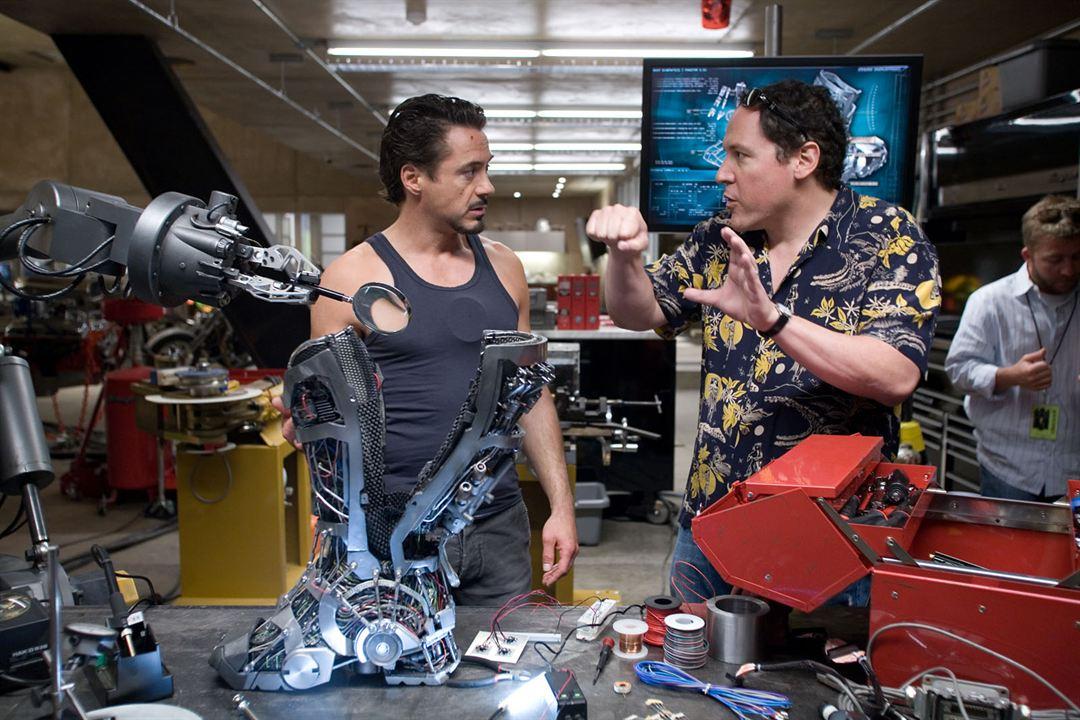 Iron Man : Photo Jon Favreau