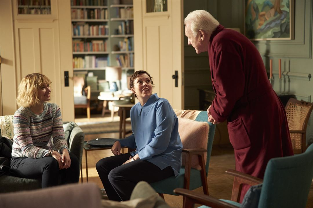 The Father: Imogen Poots, Olivia Colman, Anthony Hopkins