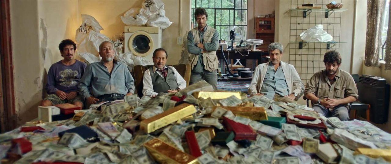 Le Braquage du siècle: Rafael Ferro, Pablo Rago, Guillermo Francella, Juan Alari, Diego Peretti, Mariano Argento