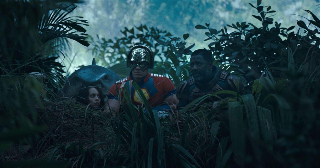 The Suicide Squad : Photo Daniela Melchior, David Dastmalchian, Idris Elba, John Cena, Steve Agee
