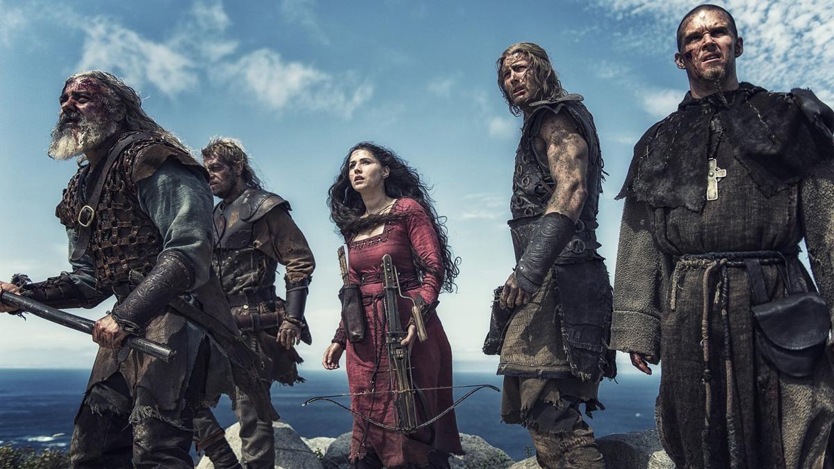 Northmen : Les Derniers Vikings : Photo Charlie Murphy, Darrell D'Silva, Leo Gregory, Ryan Kwanten, Tom Hopper