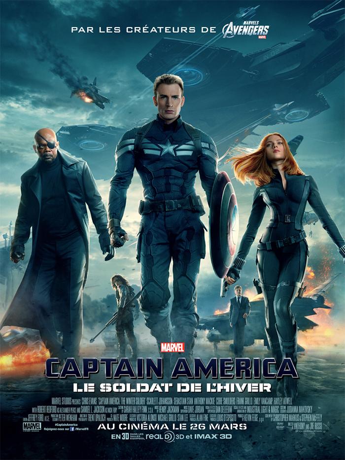 Captain America 2, le soldat de l'hiver